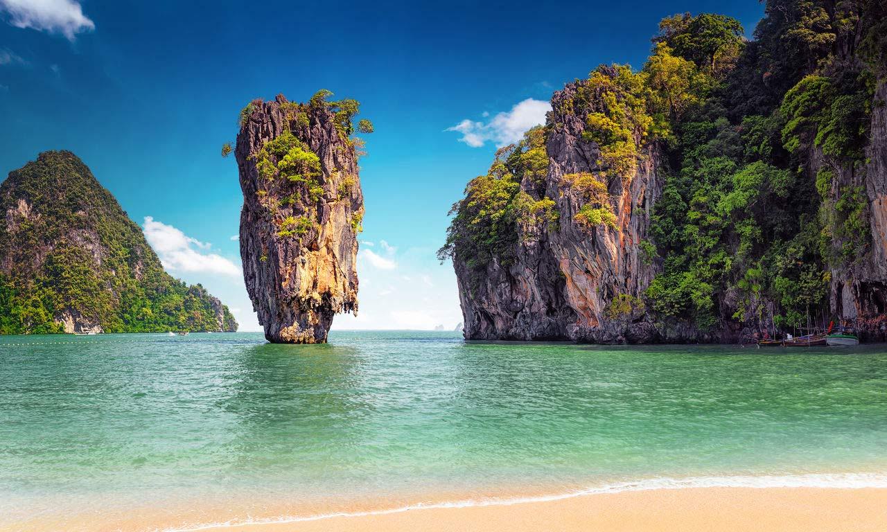 00131 asien thailand phuket james bond insel felsen strand