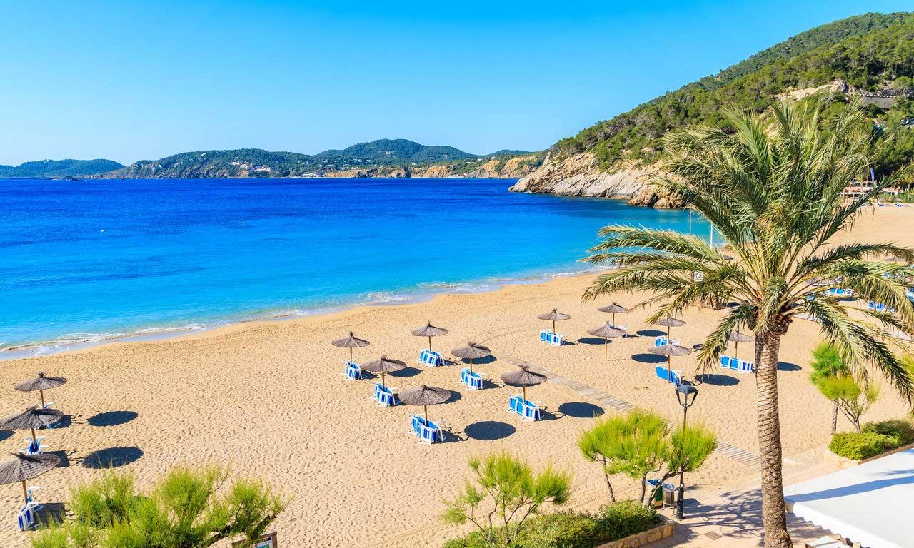 00403 Ibiza Urlaub mit Flug cala san vicente traumurlaub sommer mittelmeer baden sonne strand