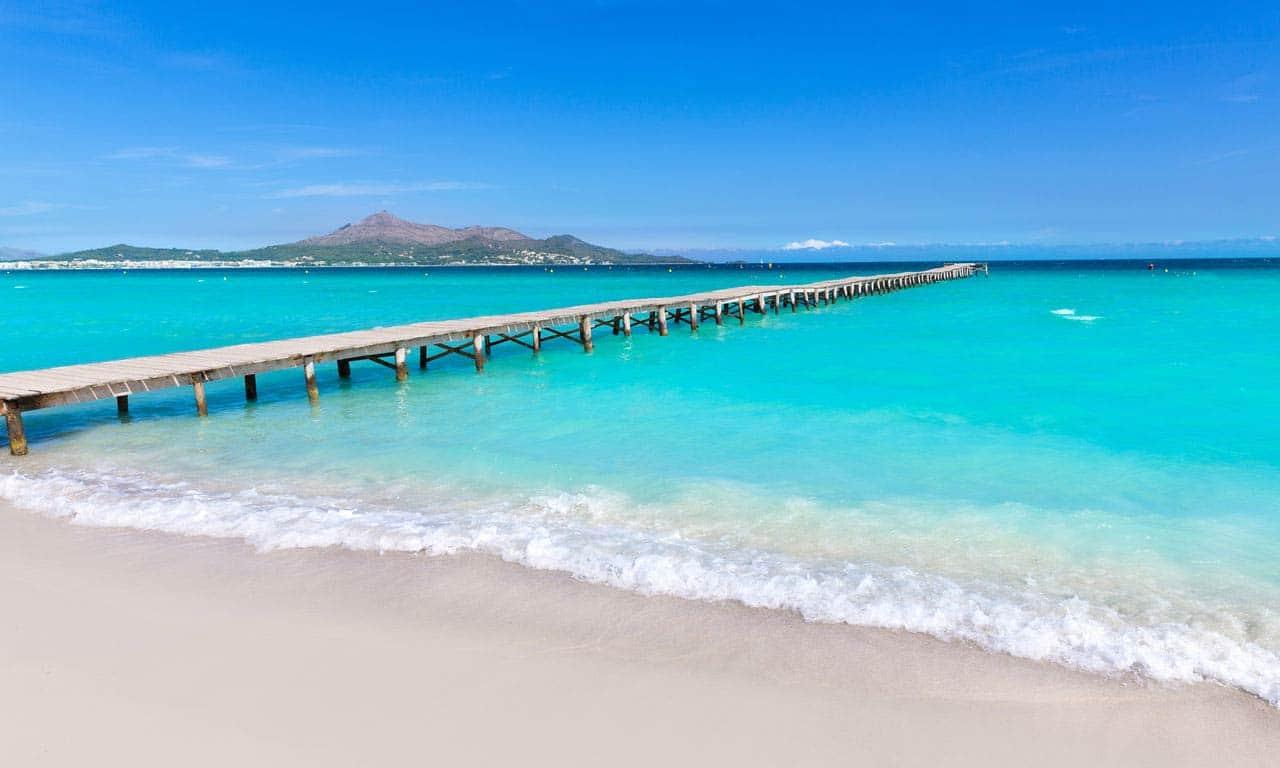 00409 europa spanien ballearen mallorca pauschalreise all inclusive playa de muro traumurlaub mittelmeer baden strand