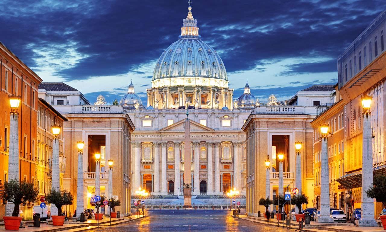 00473 europa italien rom petersplatz petersdom ausflug hotel wochenendtrip kurzurlaub sightseeing sehenswürdigkeiten