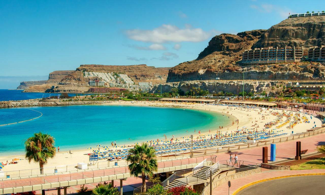 00507 europa spanien kanaren gran canaria urlaub pauschalreise all inclusive traumurlaub amadores beach strand sommer sonne