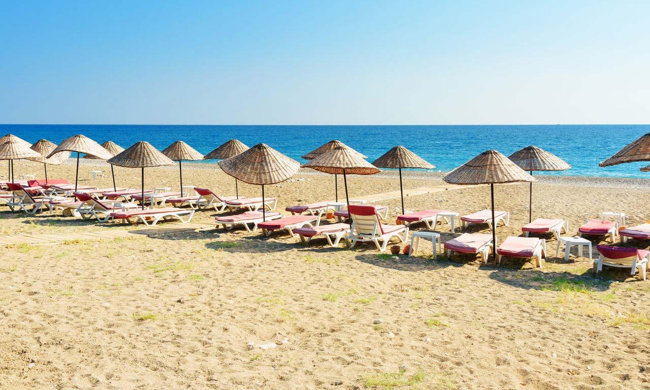 00542 urlaub 2020 türkei antalya ciralo olympos beach strand sonne meer palmen