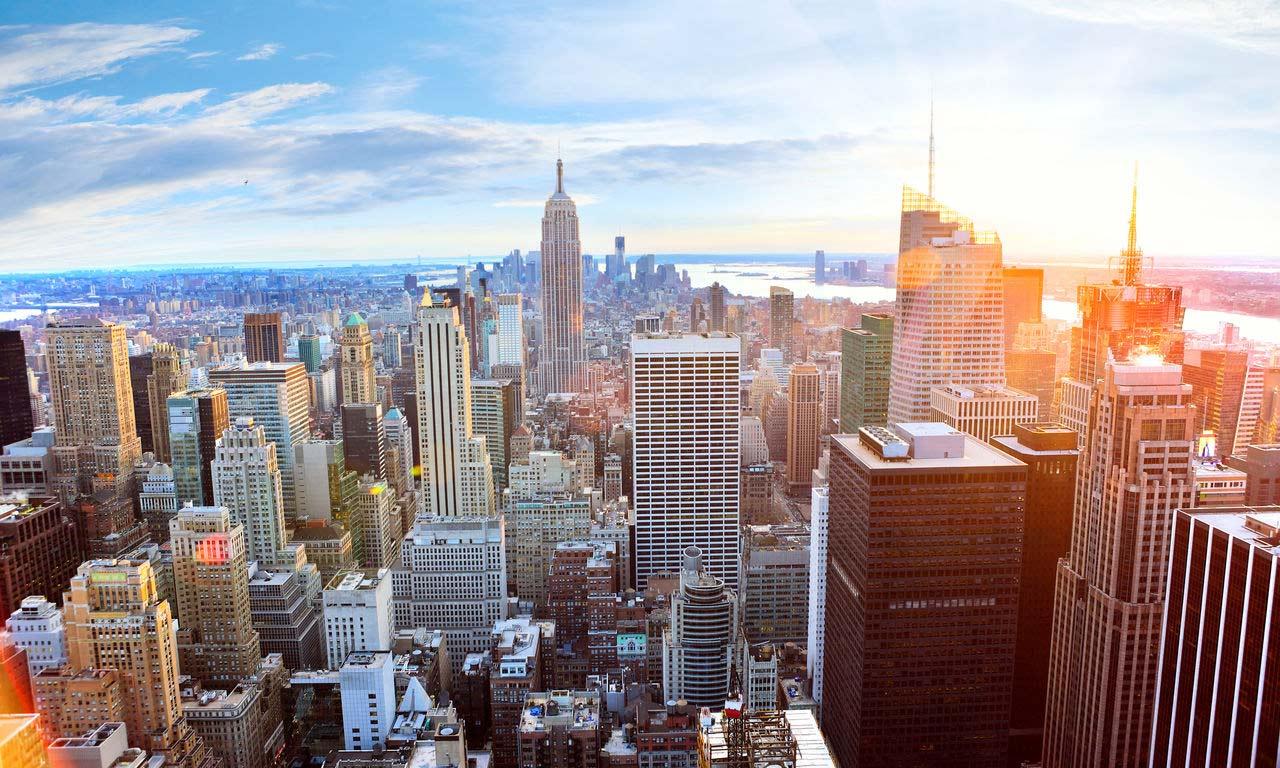 00623 usa new york manhattan skyline wolkenkratzer hotel fernreise traumurlaub sightseeing sehenswürdigkeiten