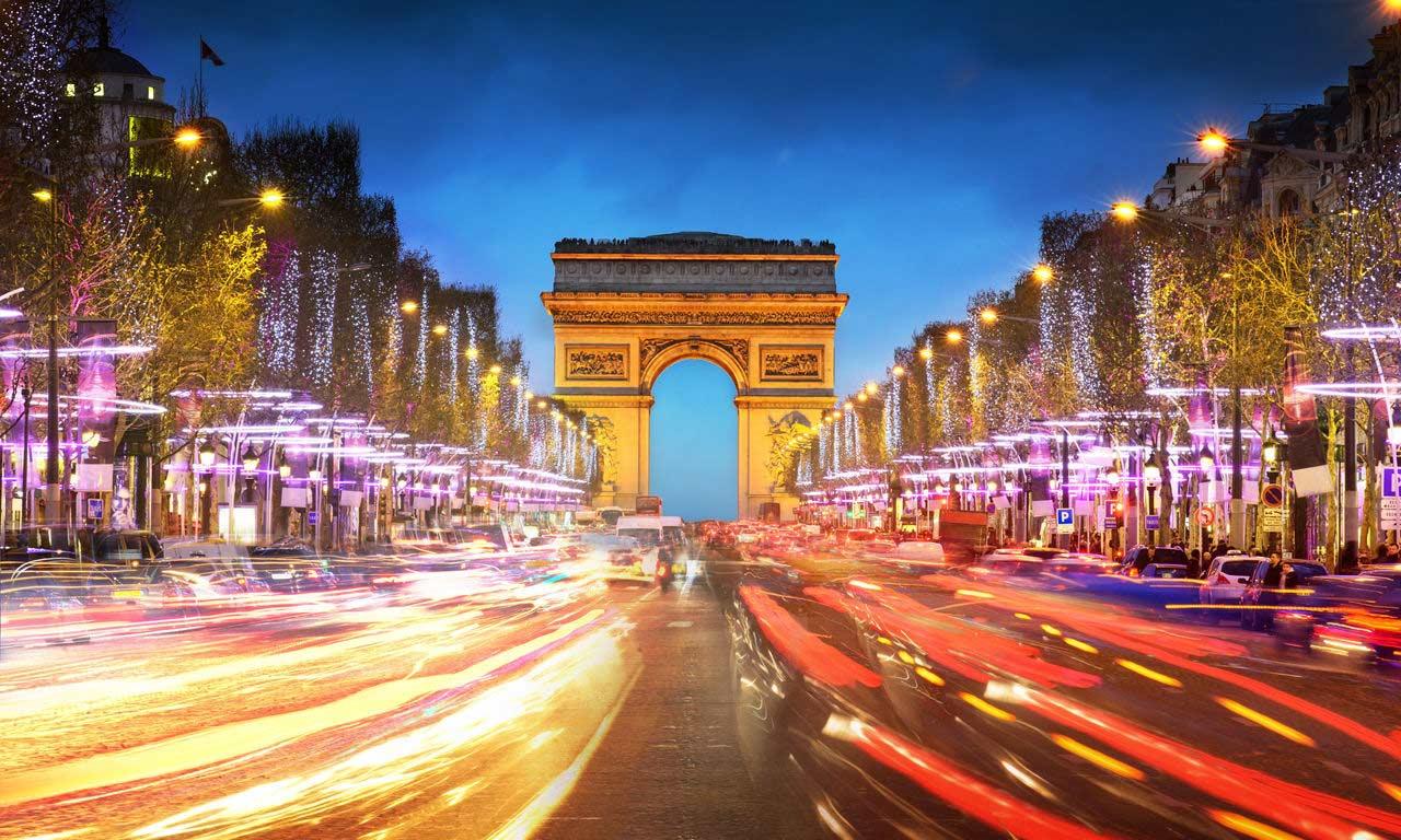 00653 europa hotels in frankreich paris arc de triomphe champs elysee wochentrip kurzurlaub stadt der liebe urlaub hotel