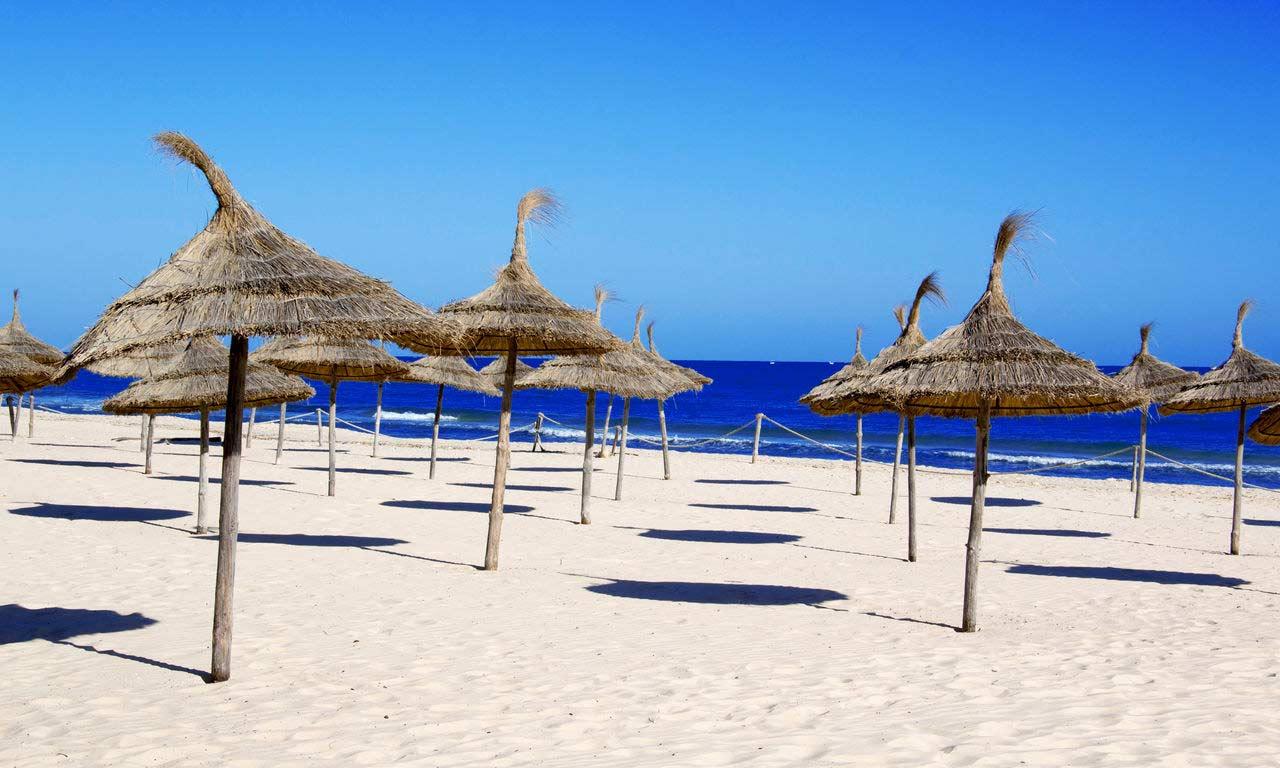 00317 tunesien djerba houmt souk sousse sonne sommer strand meer sandstrand pauschalreise günstig