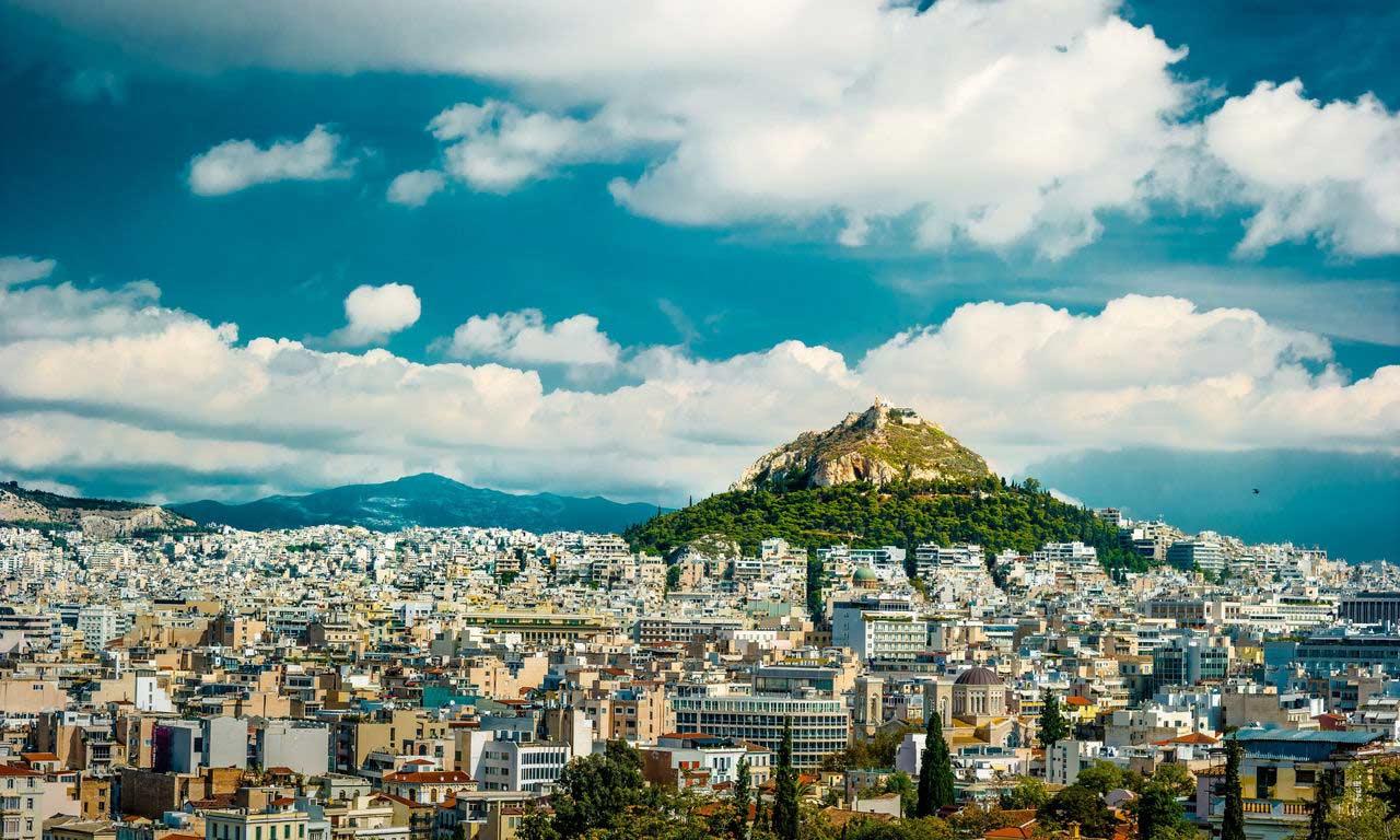 00813 hotels in athen griechenland städtereise europ lycabettus hügel ausflug sightseeing
