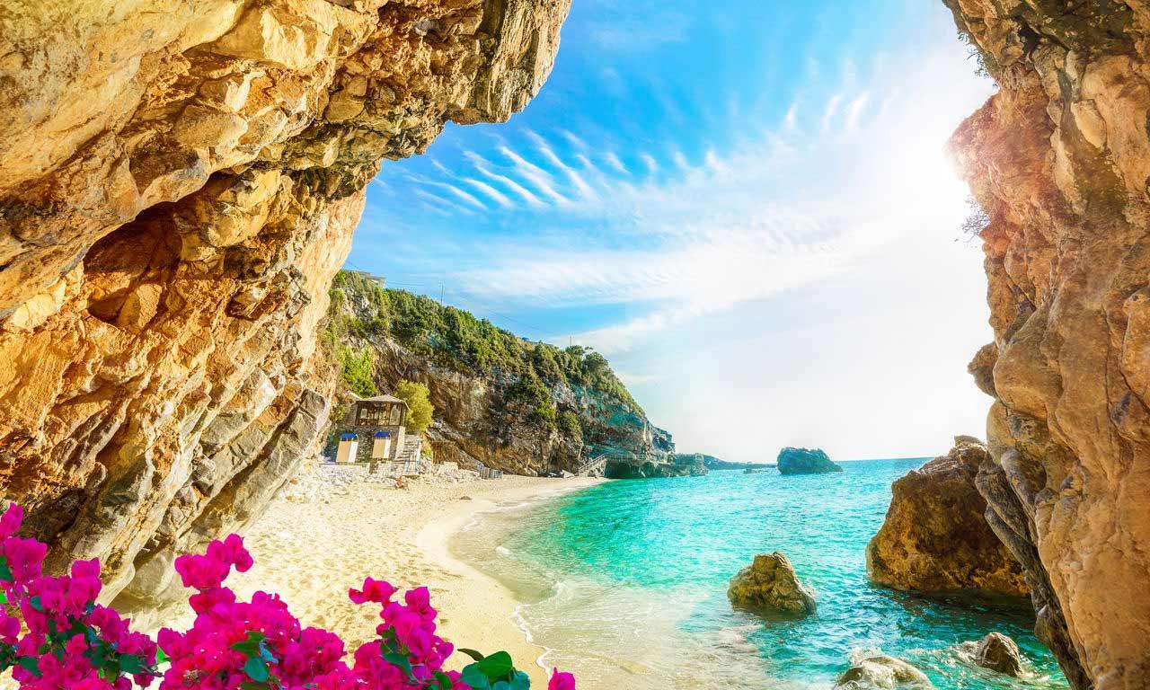 00830 korfu griechenland urlaub mittelmeer insel sommer strandurlaub erholung strand