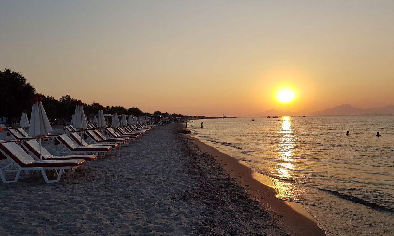 00837 kos griechenland urlaub mittelmeer insel sommer strandurlaub erholung strand sonnenuntergang romantisch