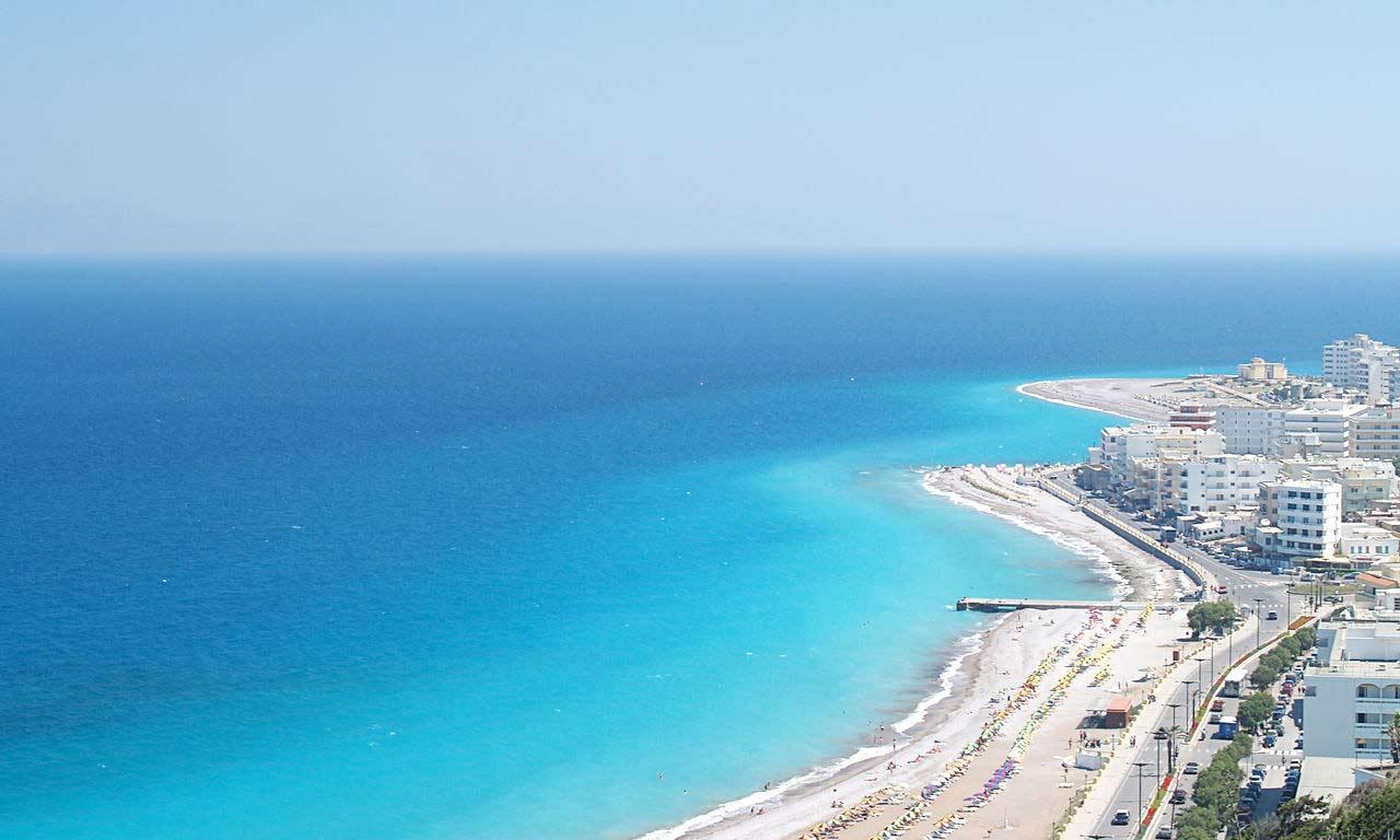00850 urlaub rhodos griechenland mittelmeer insel sommer strandurlaub erholung strand