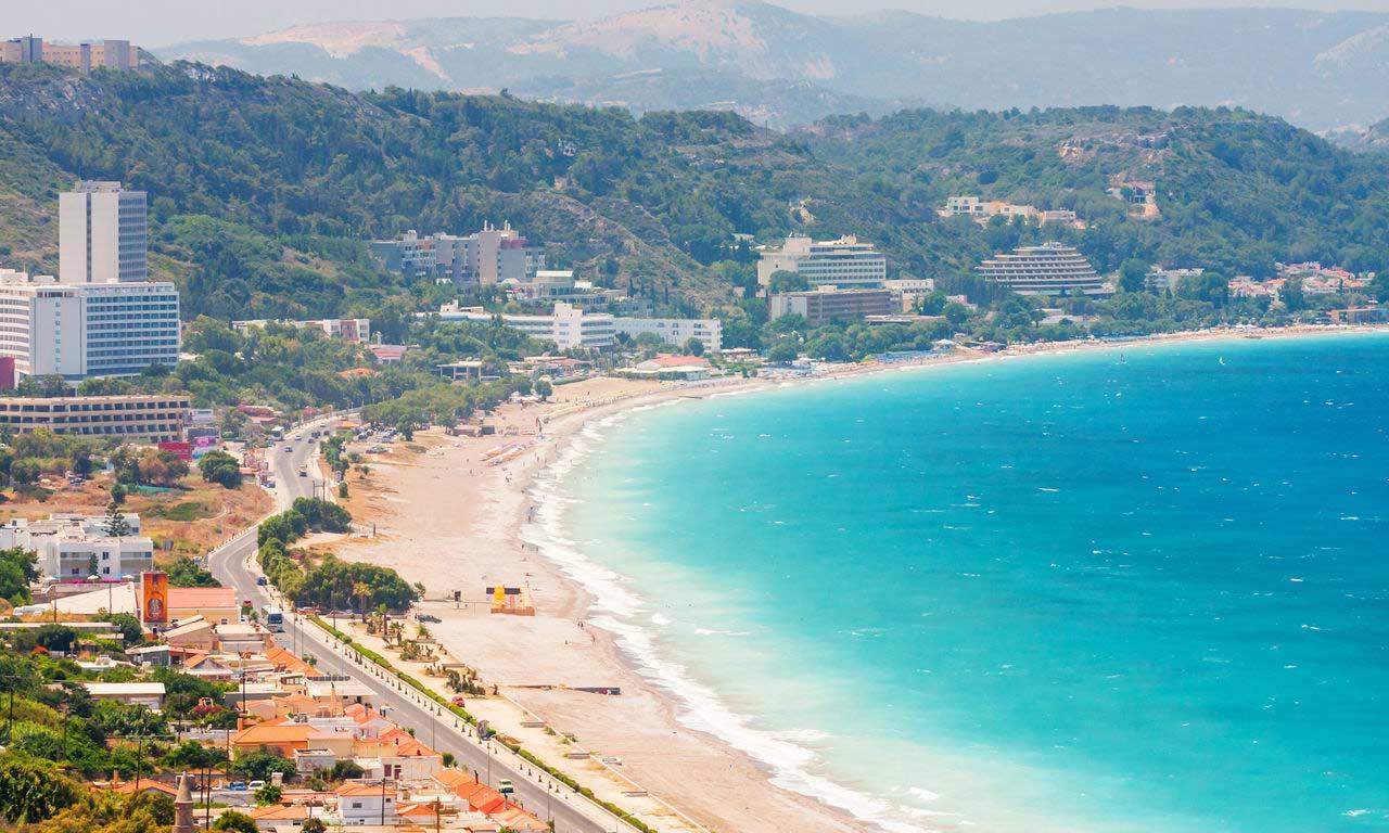 00852 rhodos urlaub griechenland mittelmeer insel sommer strandurlaub erholung