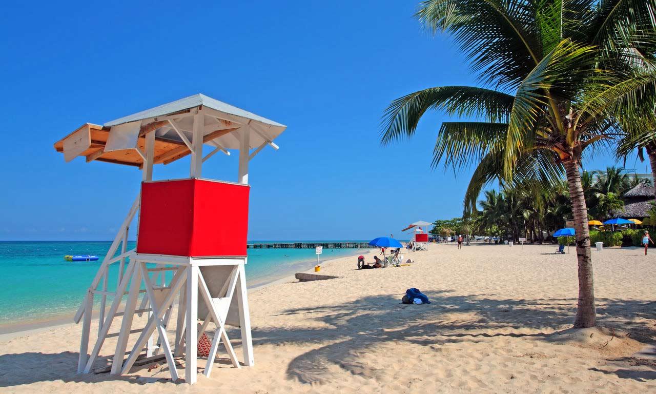 00933 jamaika urlaub fernreise karibik traumstrand insel strand sommer palmen paradies