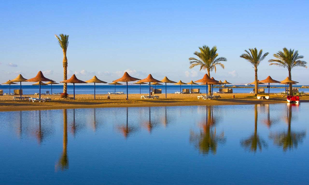 00937 Ägypten rotes meer urlaub sommer strandurlaub erholung palmen sandstrand