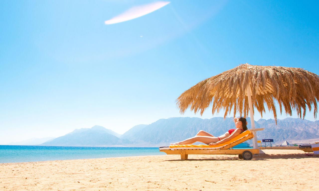 00947 Ägypten rotes meer urlaub sommer strandurlaub erholung palmen sandstrand