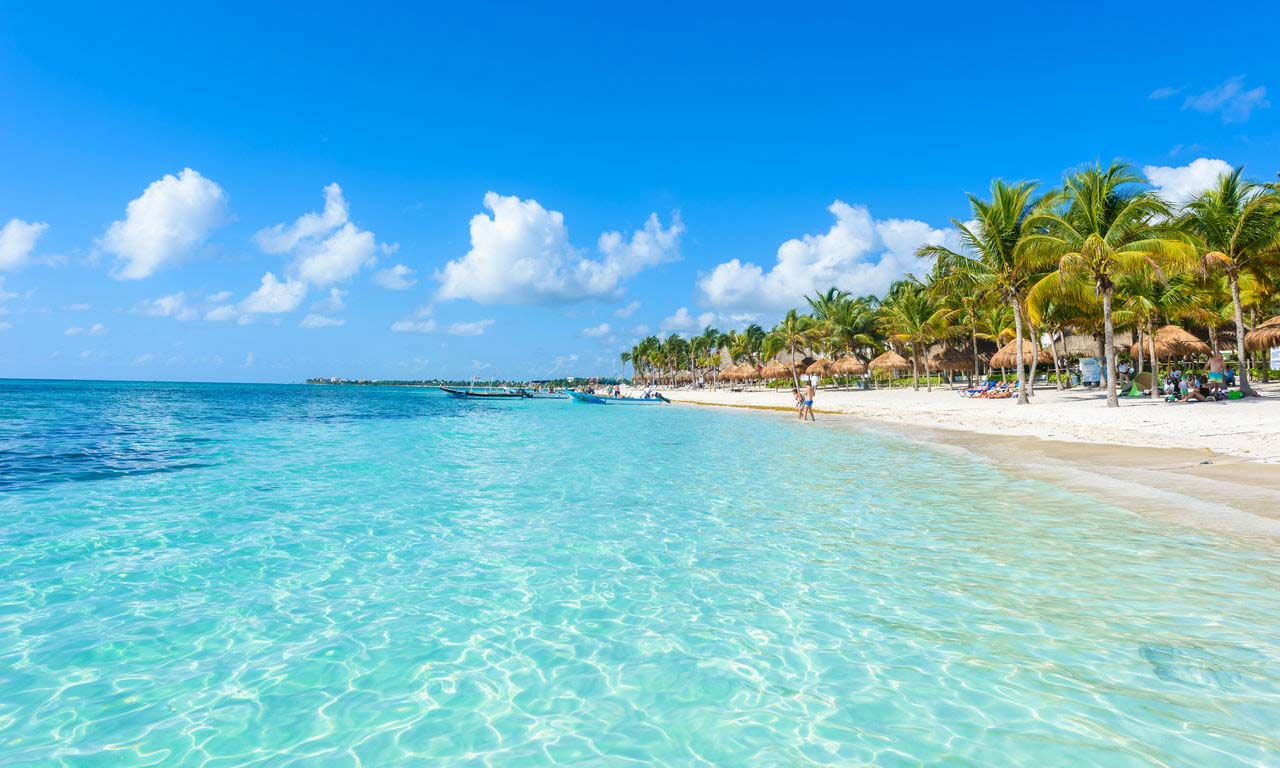 01061 mexiko urlaub fernreise mittelamerika strand palmen exotisch