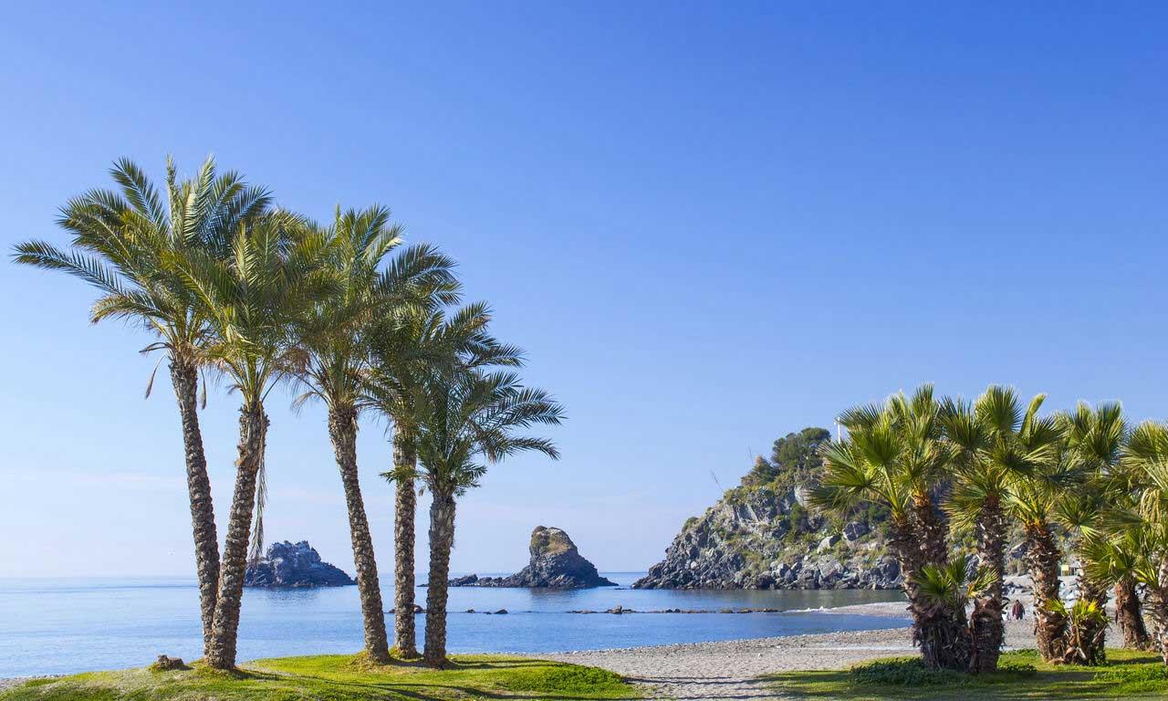 01221 costa del sol spanien urlaub mittelmeer sommer almunecar strand strandurlaub erholung