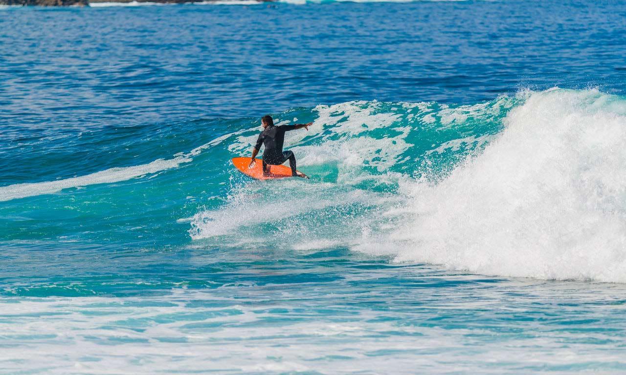 Lanzarote Spanien Urlaub Atlantik Kanaren Insel Sommer Strandurlaub Surfen Wellenreiten
