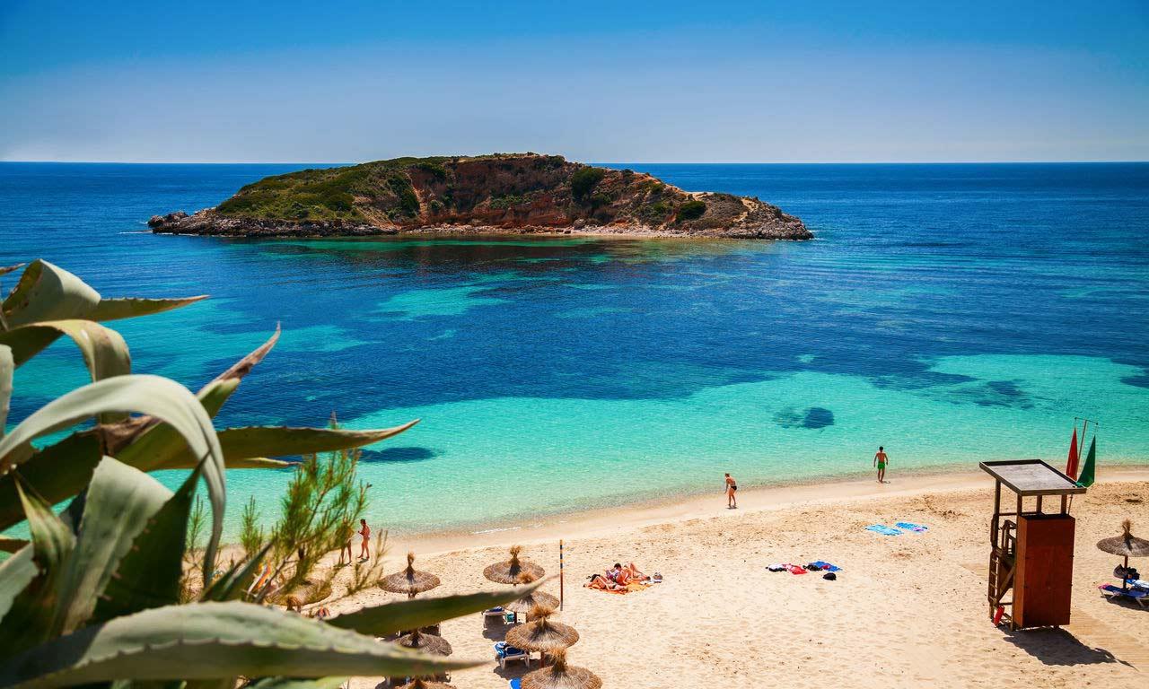 01278 hotels in mallorca spanien urlaub mittelmeer balearen insel sommer strandurlaub erholung strand playa oratorio