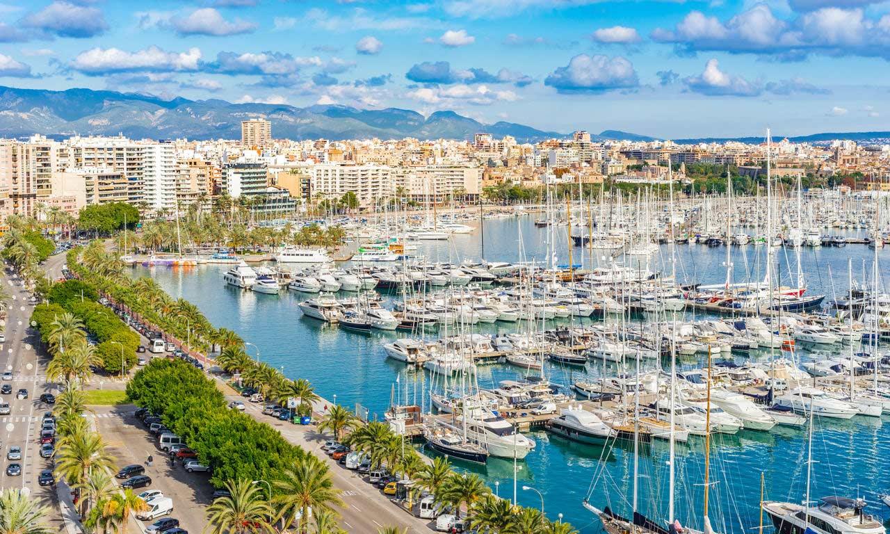 01284 hotels in palma de mallorca urlaub 2020 spanien mittelmeer balearen insel sommer strandurlaub erholung hafen marina