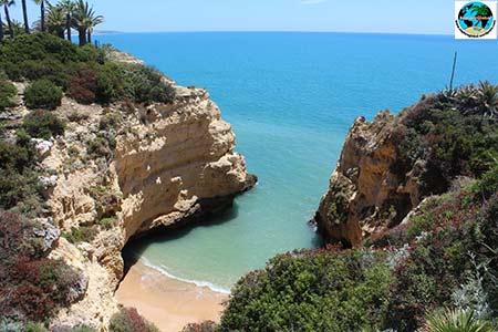 portugal algarve strand bucht meer 450