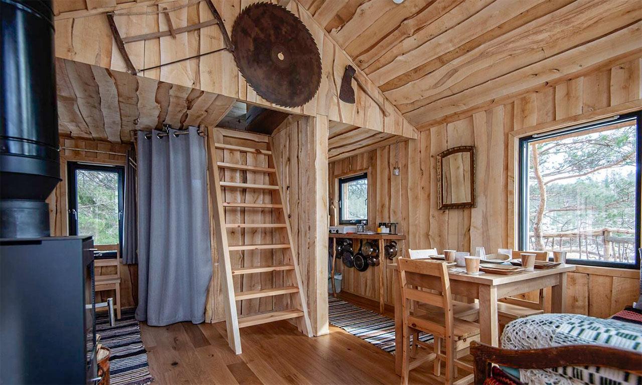 TreeTop Fiddan Ferienwohnung Norwegen Urlaub Im Baumhaus 5