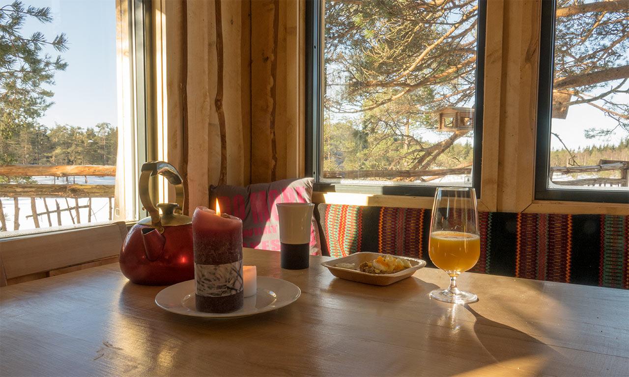 TreeTop Fiddan Ferienwohnung Norwegen Urlaub Im Baumhaus 6